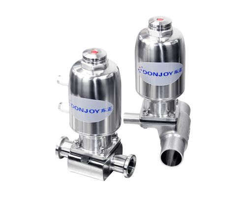 Multi functional high frequency canned diaphragm valve