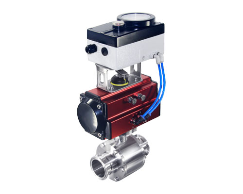 Proportional adjustment ball valve