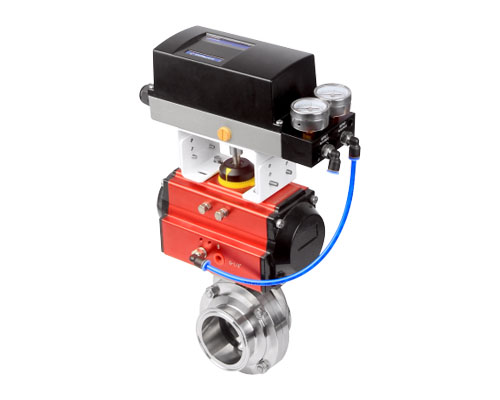 Proportional adjustment butterfly valve