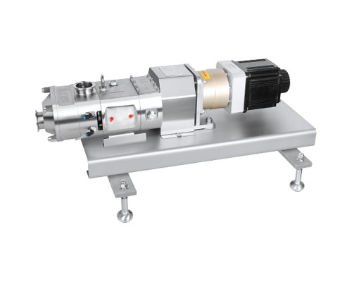 Twin screw pump with Servo motor